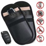 2 X Car Key Signal Blocker Pouch