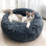 Plush Donut Pet Bed