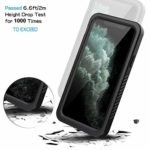 Full Body Sealed Protective Front and Back Cover for iPhone 11 Pro (Black)