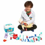 School Classroom and Doctor Roleplay Costume Dress-Up.