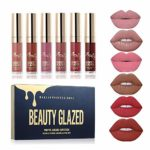 Beauty Sexy 6PCS/ Matte Lip Gloss Sexy Liquid Lipstick Waterproof Long Lasting Moisturizer Professional Lips Balm Makeup