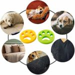 QBody 2019 NEWEST Reusable Washing Machine Hair Catcher Sticky Hair Cleaning Ball Floating Pet Fur Catcherfor Laundry Clothes/Bedding -2pc (Pet Hair Remover)