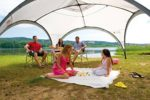 portable sun shelter with sun protection SPF 50+