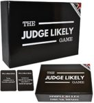 The Judge Likely Game: Adult Party Game - UK Edition - Optional Drinking Game. Funny British Card Game For Groups & Christmas Parties.