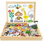 Jojoin Wooden Magnetic Board Puzzle Games