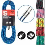 Stagg 25018211 6 m S Series Vintage Tweed Instrument Cable