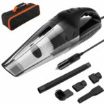 Newdora Car Vacuum Cleaner for Car Interior Care 5000PA Strong Suction Vacuum for Car Wet&Dry Vacuum Cleaner Portable Handheld Vacuums with 16.4 Feet Power Cord and Carry Bag (Cord)