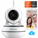 2020 WiFi Camera eLinkSmart Full HD 960P Home Security PTZ Webcam Card or Cloud Video Recording Night Vision 2-Way Audio Motion Detection