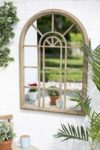 La Hacienda Rounded Arch Outdoor Mirror