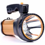 CSNDICE LED Searchlight Rechargeable Portable Handheld Spotlight Camping Lantern