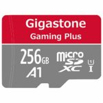 Gigastone 256GB Micro SD Card with Adapter