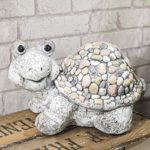 Widdop 'Country Living' Mosaic Polystone Garden Ornament - Tortoise
